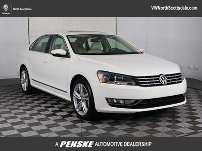 2012 Volkswagen Passat 4dr Sedan 2.0L DSG TDI SEL Premium