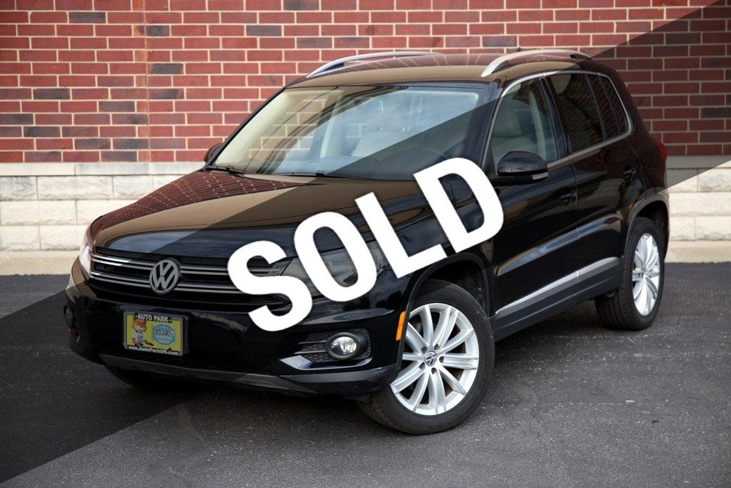 2012 Used Volkswagen Tiguan 2wd 4dr Automatic Se At Auto Park Imports Serving Stone Park Il Iid 20012164
