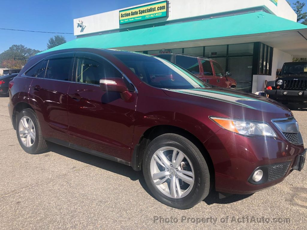 2013 Used Acura Rdx Awd 4dr Tech Pkg At Act1auto Com Serving Norfolk Va Iid 20390434