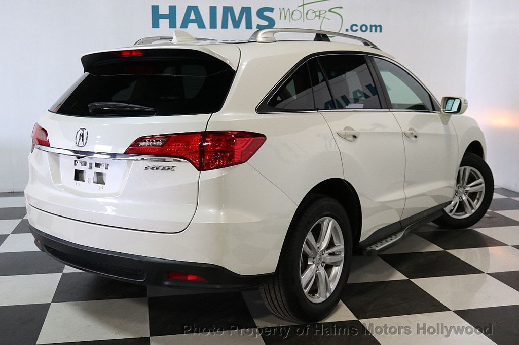 Used Acura RDX FWD Dr Tech Pkg At Haims Motors Serving Fort - Acura suv used