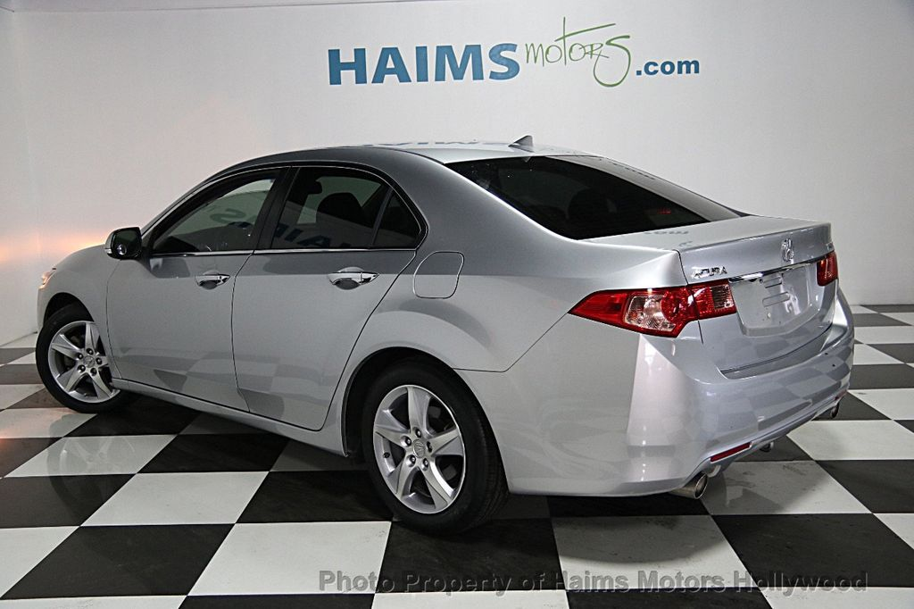 2013 used acura tsx 4dr sedan i4 automatic tech pkg at haims motors serving fort lauderdale. Black Bedroom Furniture Sets. Home Design Ideas