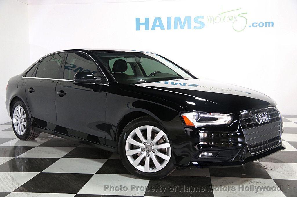 2013 Used Audi A4 4dr Sedan CVT FrontTrak 2.0T Premium at Haims Motors Hollywood Serving Fort ...