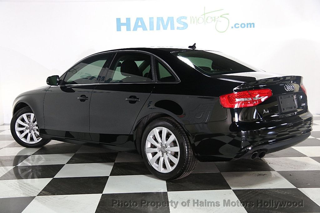 2013 Used Audi A4 4dr Sedan Cvt Fronttrak 2 0t Premium At