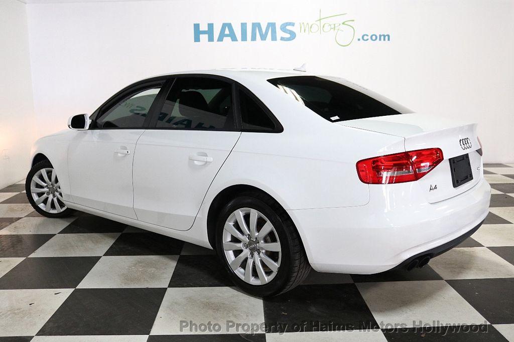 2013 Audi A4 4dr Sedan CVT FrontTrak 2.0T Premium - 18615222 - 4