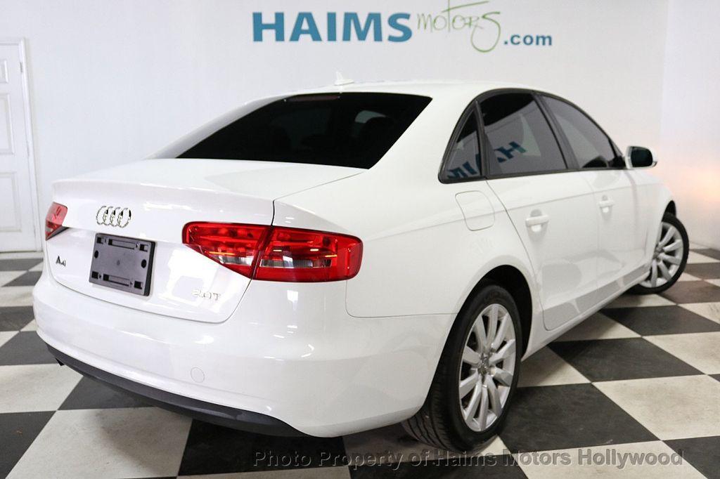2013 Audi A4 4dr Sedan CVT FrontTrak 2.0T Premium - 18615222 - 6