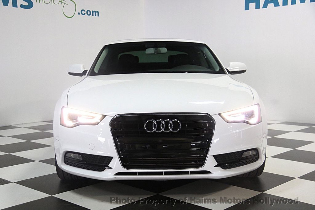 2013 used audi a5 2dr coupe automatic quattro 2 0t premium at haims motors serving fort. Black Bedroom Furniture Sets. Home Design Ideas