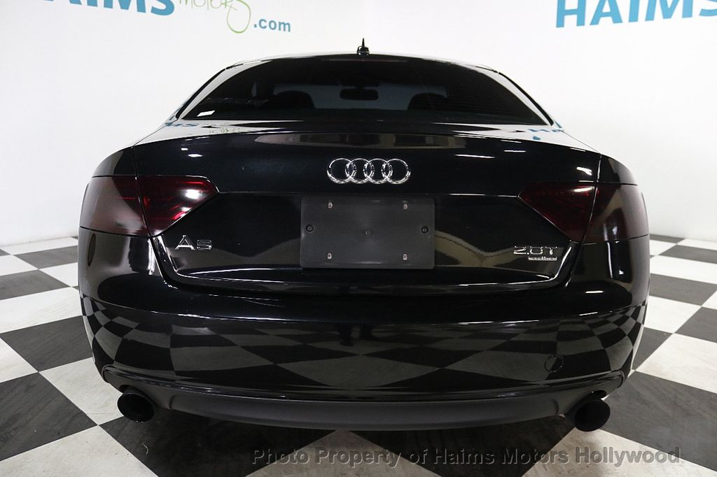 2013 Used Audi A5 2dr Coupe Automatic Quattro 2 0t Premium At Haims Motors Serving Fort