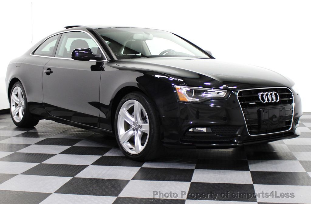 2013 used audi a5 certified a5 quattro premium plus awd coupe navigation at eimports4less. Black Bedroom Furniture Sets. Home Design Ideas