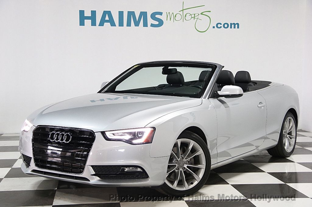 2013 used audi a5 cabriolet 2dr cabriolet auto fronttrak 2.0t