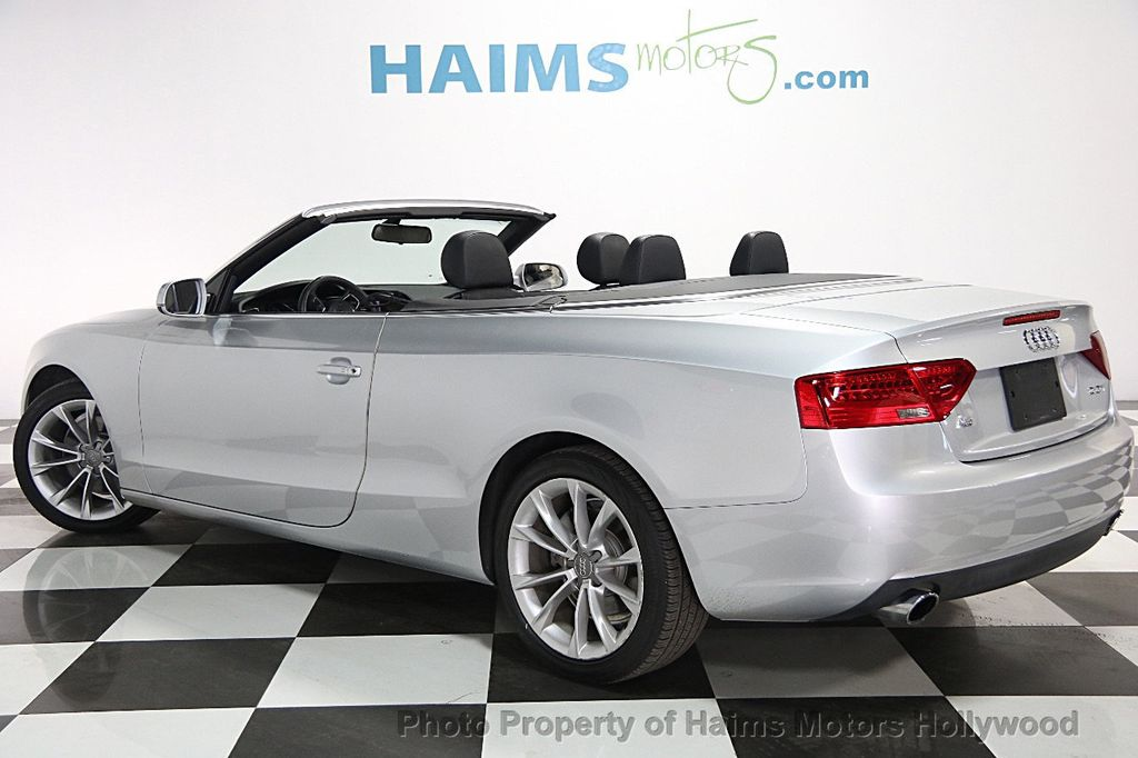 Used Audi A Cabriolet Dr Cabriolet Auto FrontTrak T - Audi cabriolet