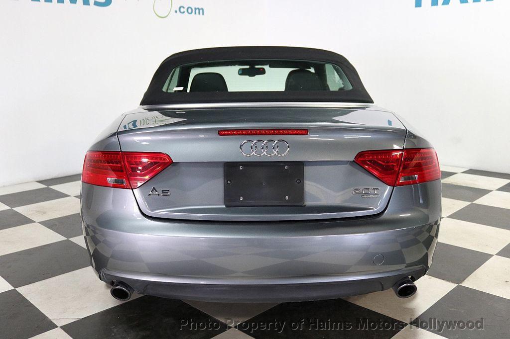 2013 Audi A5 Cabriolet 2dr Cabriolet Auto quattro 2.0T Premium Plus - 18090642 - 9