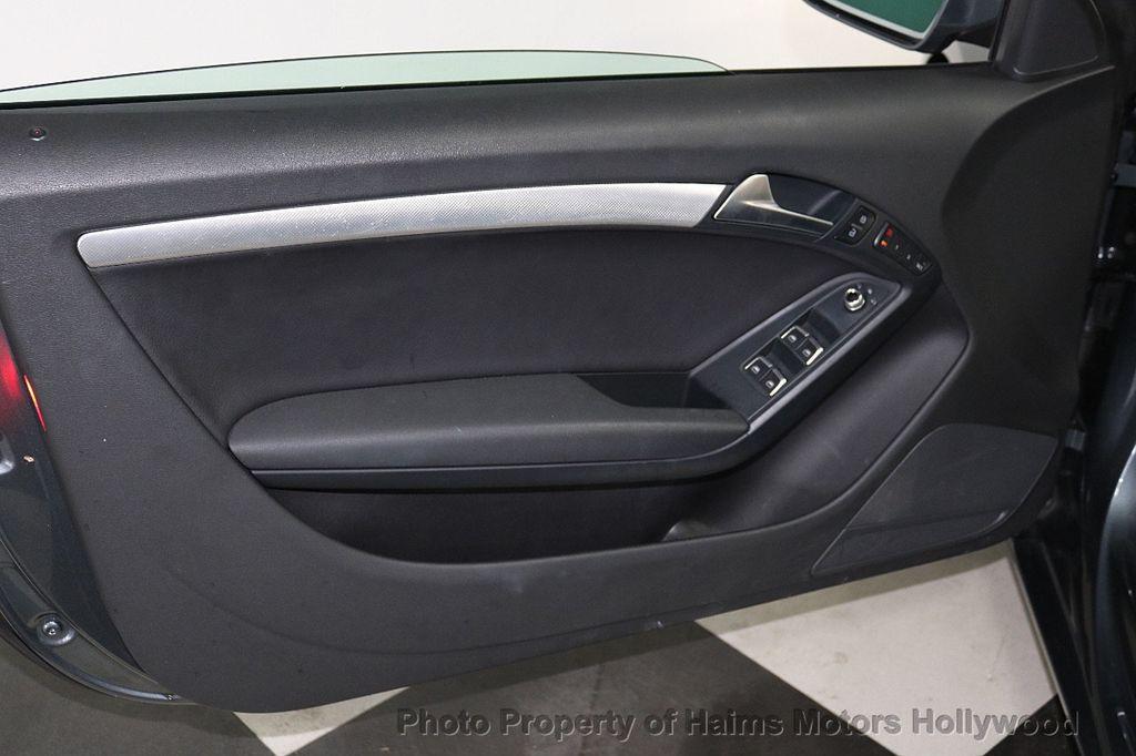 2013 Audi A5 Cabriolet 2dr Cabriolet Auto quattro 2.0T Premium Plus - 18090642 - 13