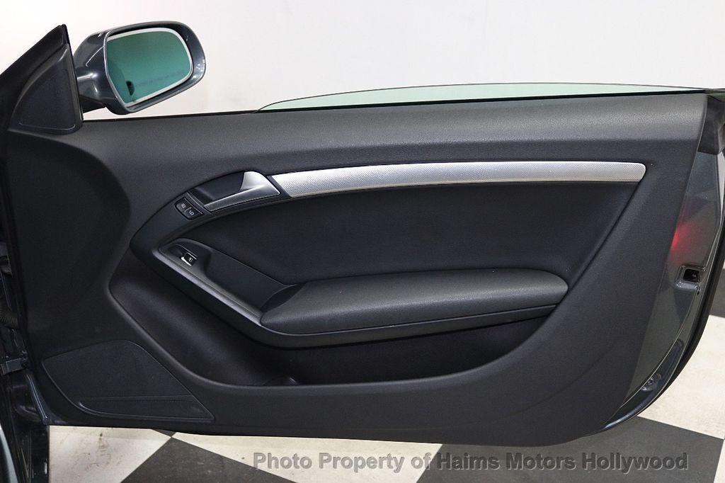 2013 Audi A5 Cabriolet 2dr Cabriolet Auto quattro 2.0T Premium Plus - 18090642 - 14