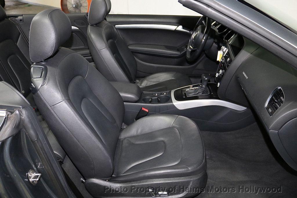 2013 Audi A5 Cabriolet 2dr Cabriolet Auto quattro 2.0T Premium Plus - 18090642 - 16
