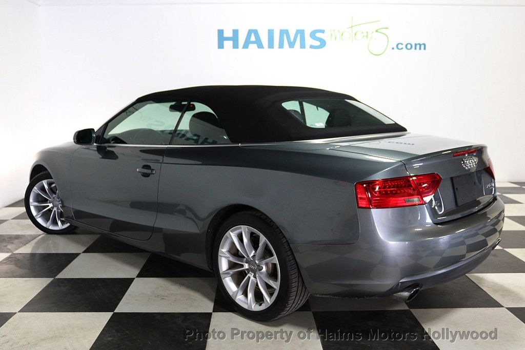 2013 Audi A5 Cabriolet 2dr Cabriolet Auto quattro 2.0T Premium Plus - 18090642 - 8