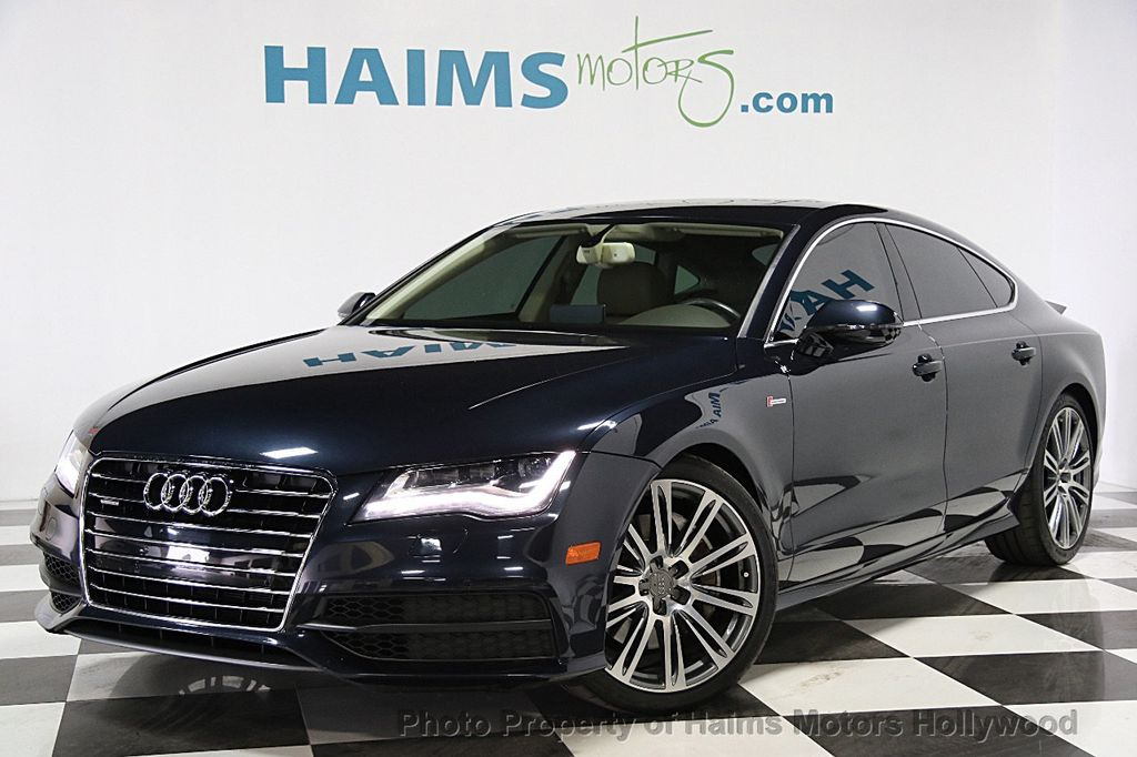 2013 used audi a7 4dr hatchback quattro 3 0 prestige at haims motors hollywood serving fort. Black Bedroom Furniture Sets. Home Design Ideas