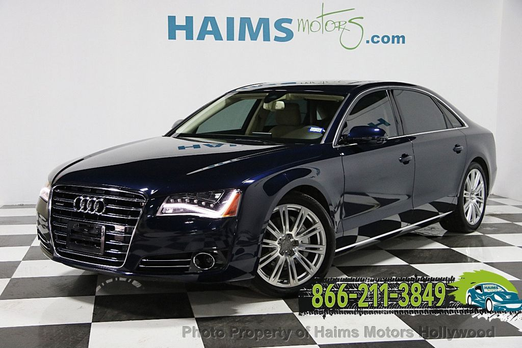 Used Audi A L Dr Sedan L At Haims Motors Serving Fort - Used audi a8l for sale