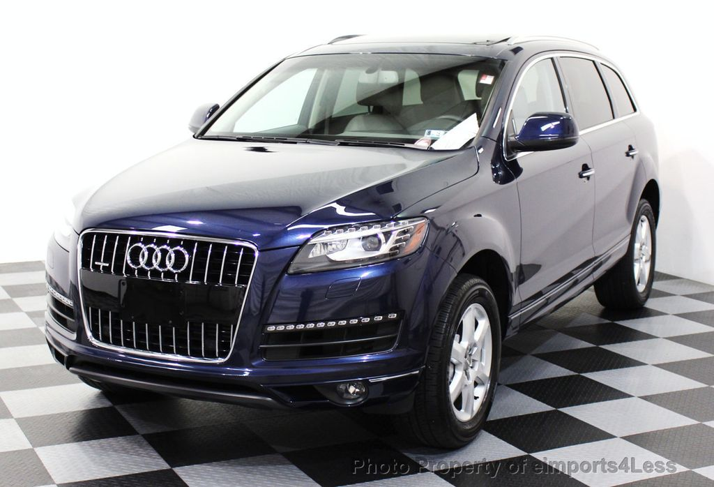 2013 used audi q7 certified q7 quattro premium plus awd suv navigation at eimports4less. Black Bedroom Furniture Sets. Home Design Ideas