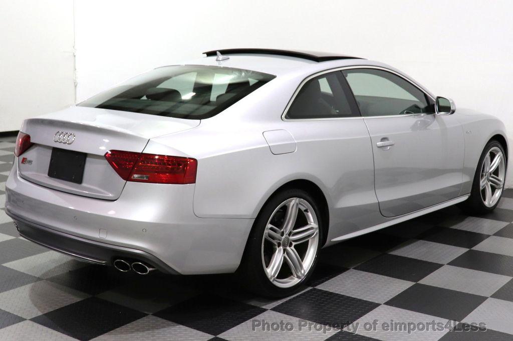 2013 Audi S5 CERTIFIED S5 3.0t QUATTRO AWD PREMIUM PLUS CAM NAV - 18448594 - 18
