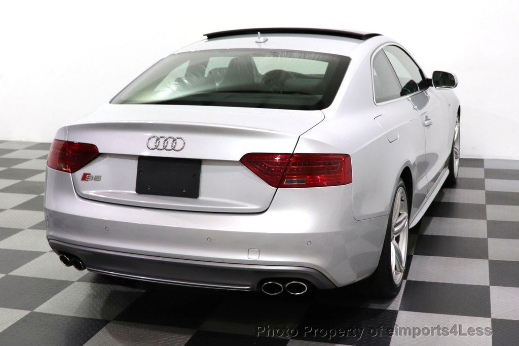 2013 Audi S5 CERTIFIED S5 3.0t QUATTRO AWD PREMIUM PLUS CAM NAV - 18448594 - 32