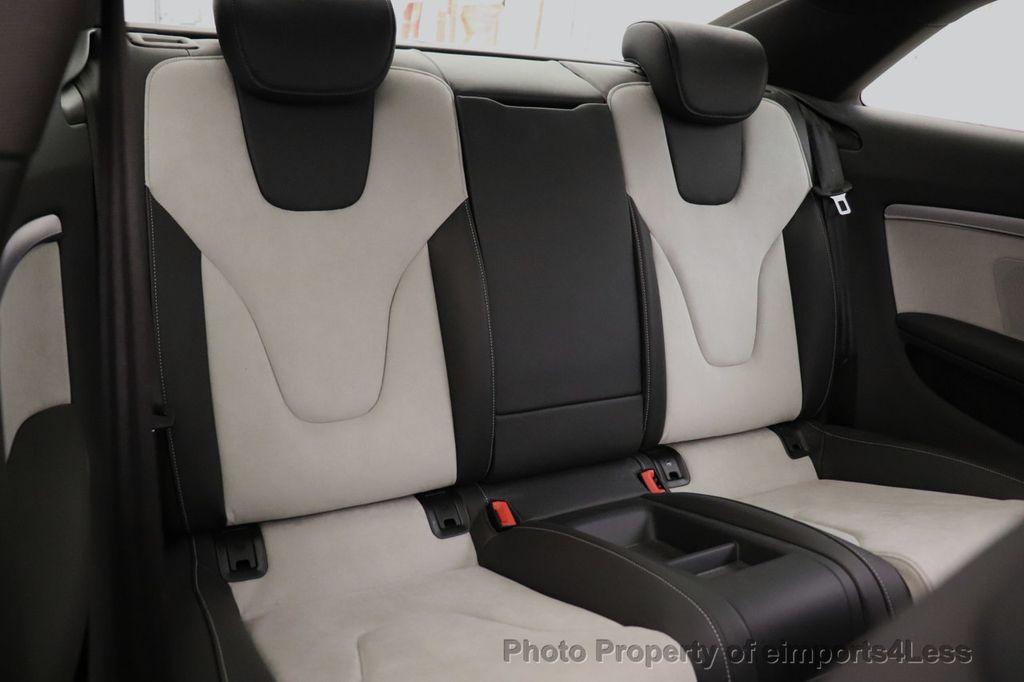 2013 Audi S5 CERTIFIED S5 3.0t QUATTRO AWD PREMIUM PLUS CAM NAV - 18448594 - 37