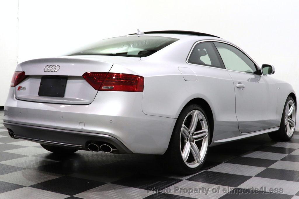 2013 Audi S5 CERTIFIED S5 3.0t QUATTRO AWD PREMIUM PLUS CAM NAV - 18448594 - 3