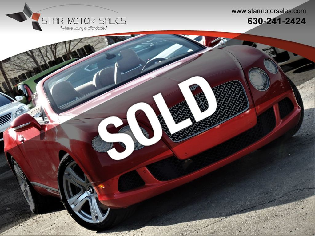 2013 Bentley Continental GT 2dr Convertible - 18759534 - 0
