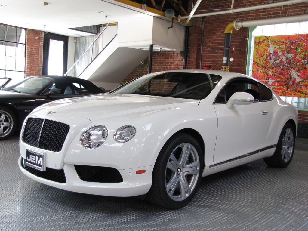 2013 Bentley Continental GT V8 2dr Coupe - 18501008 - 0