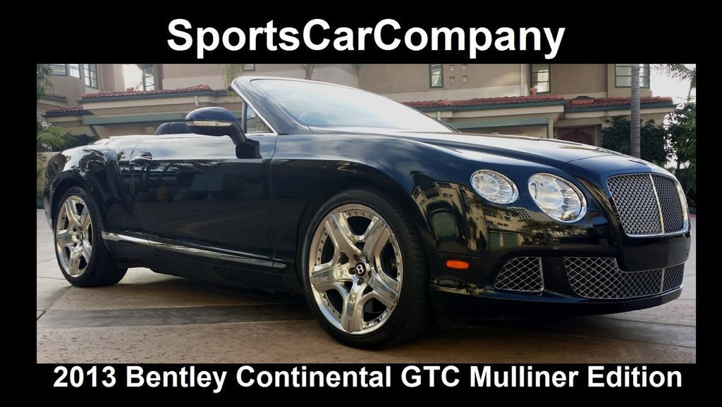 2013 Bentley Continental GTC 12 Cylinder Continental GT Mulliner Edition - 16005324 - 1