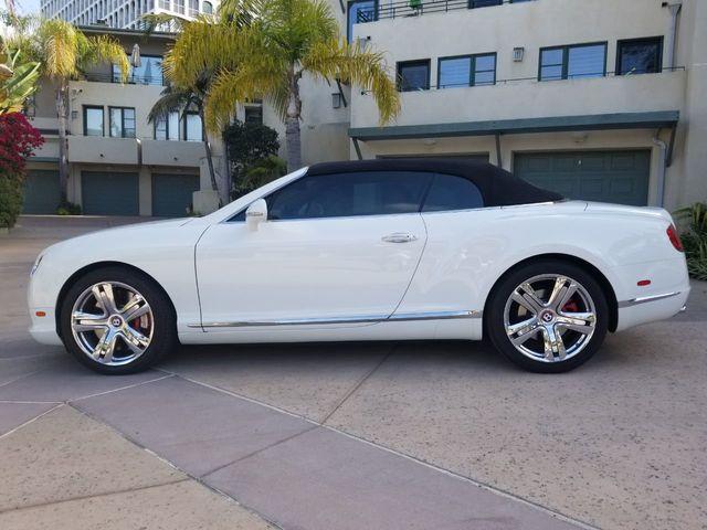 2013 Bentley Continental Gtc Convertible For Sale La Jolla Ca