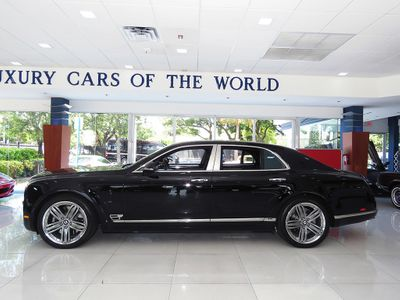 2013 Bentley Mulsanne Le Mans Edition Sedan