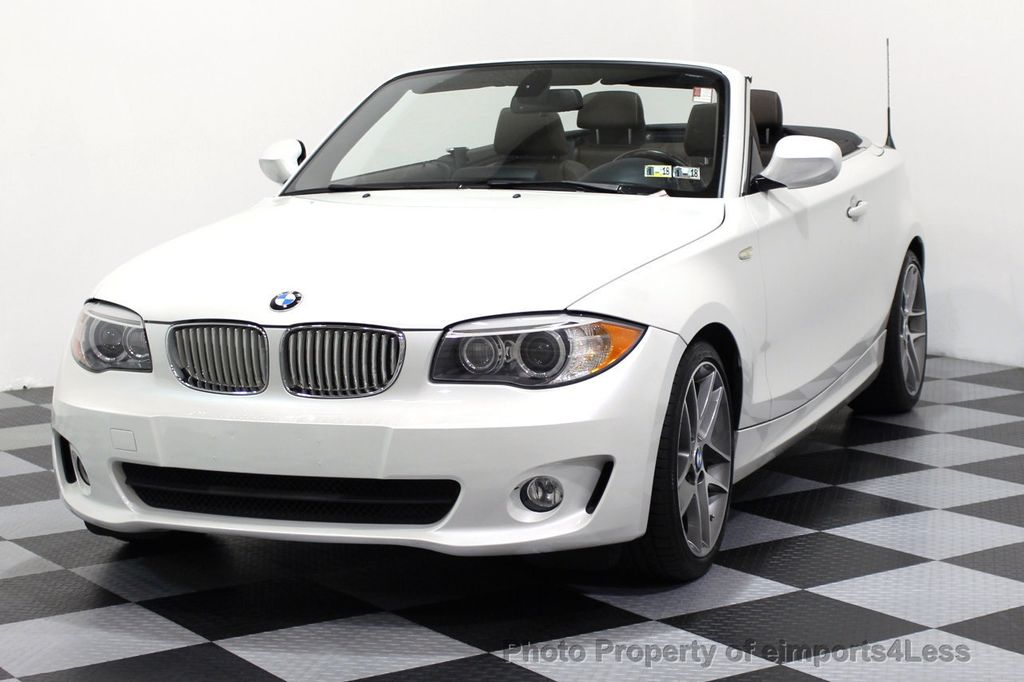 2013 BMW 1 Series CERTIFIED 128i CONVERTIBLE LIMITED EDITION NAVIGATION