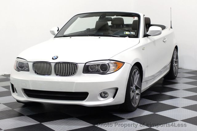 Bmw 128I Convertible >> 2013 Used Bmw 1 Series Certified 128i Convertible Limited