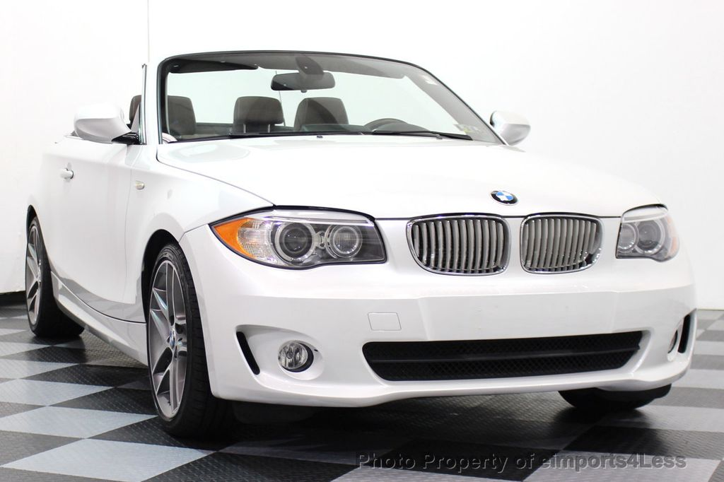 2013 BMW 1 Series CERTIFIED 128i CONVERTIBLE LIMITED EDITION / NAVIGATION - 15866720 - 12