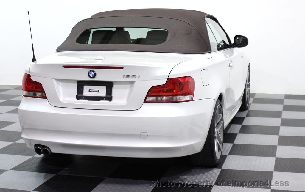 2013 BMW 1 Series CERTIFIED 128i CONVERTIBLE LIMITED EDITION / NAVIGATION - 15866720 - 14