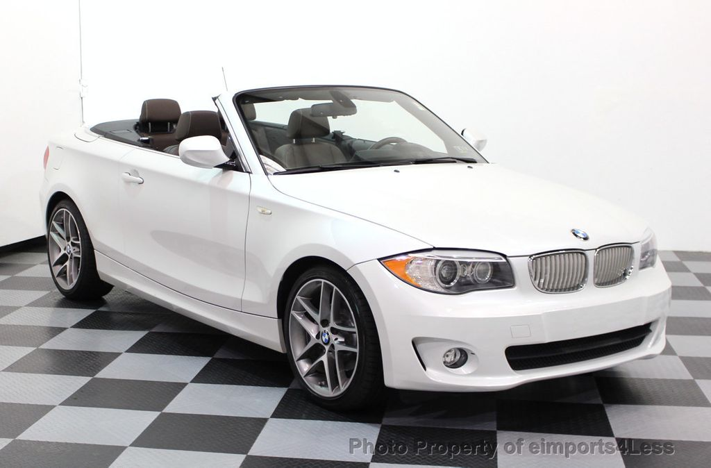 2013 BMW 1 Series CERTIFIED 128i CONVERTIBLE LIMITED EDITION / NAVIGATION - 15866720 - 33