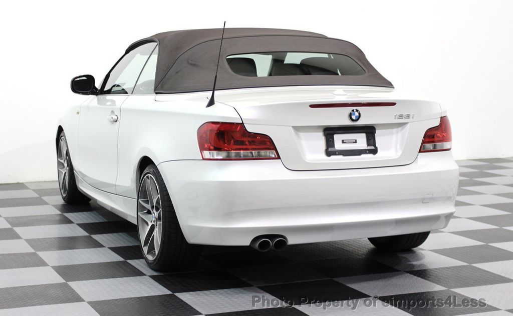 2013 BMW 1 Series CERTIFIED 128i CONVERTIBLE LIMITED EDITION / NAVIGATION - 15866720 - 34