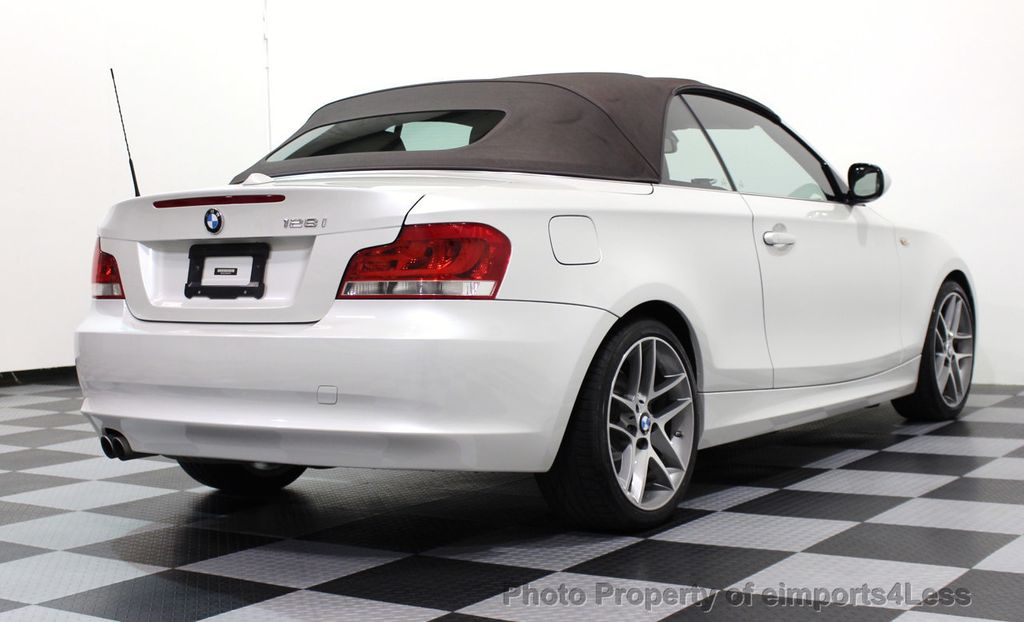 2013 BMW 1 Series CERTIFIED 128i CONVERTIBLE LIMITED EDITION / NAVIGATION - 15866720 - 35