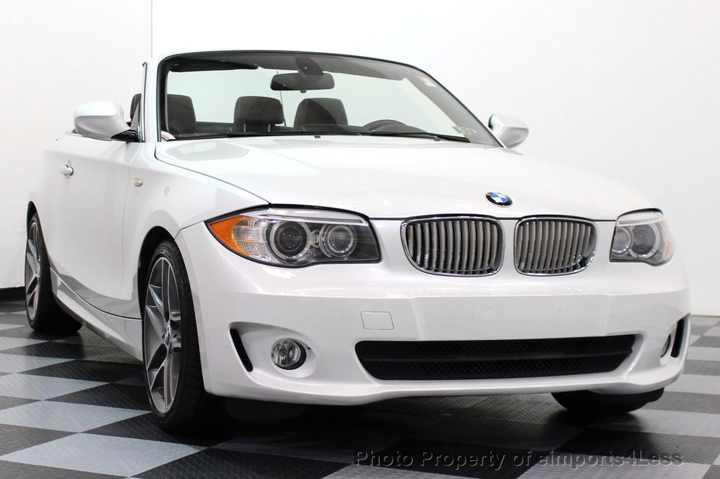 2013 BMW 1 Series CERTIFIED 128i CONVERTIBLE LIMITED EDITION / NAVIGATION - 15866720 - 37