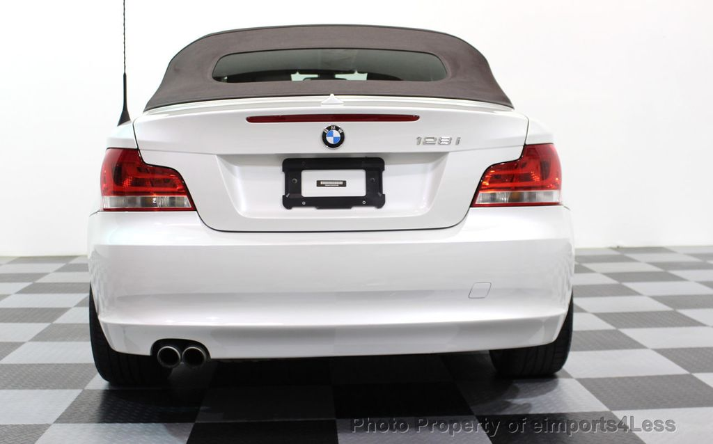 2013 BMW 1 Series CERTIFIED 128i CONVERTIBLE LIMITED EDITION / NAVIGATION - 15866720 - 39