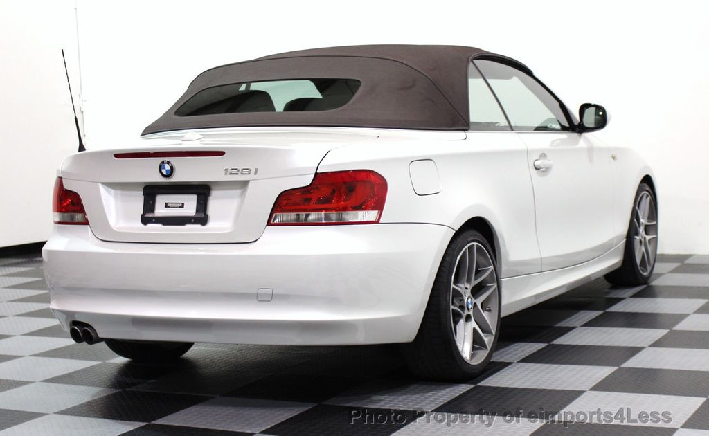 2013 BMW 1 Series CERTIFIED 128i CONVERTIBLE LIMITED EDITION / NAVIGATION - 15866720 - 40