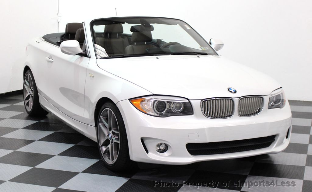 2013 BMW 1 Series CERTIFIED 128i CONVERTIBLE LIMITED EDITION / NAVIGATION - 15866720 - 46