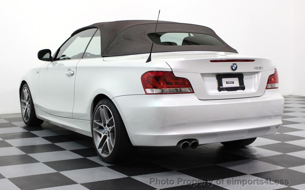 2013 BMW 1 Series CERTIFIED 128i CONVERTIBLE LIMITED EDITION / NAVIGATION - 15866720 - 47