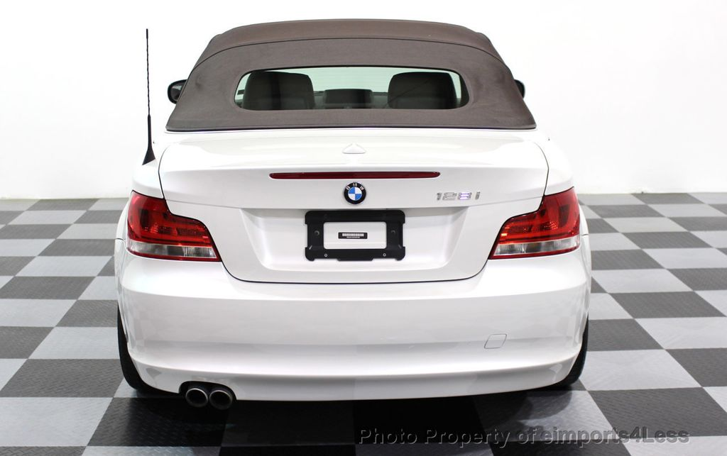 2013 BMW 1 Series CERTIFIED 128i CONVERTIBLE LIMITED EDITION / NAVIGATION - 15866720 - 52
