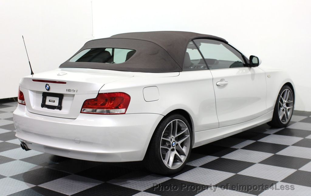 2013 BMW 1 Series CERTIFIED 128i CONVERTIBLE LIMITED EDITION / NAVIGATION - 15866720 - 53