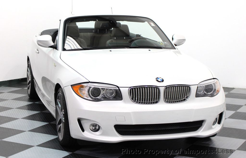 2013 BMW 1 Series CERTIFIED 128i CONVERTIBLE LIMITED EDITION / NAVIGATION - 15866720 - 54