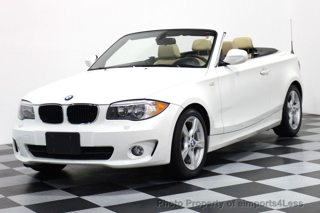 2013 BMW 1 Series CERTIFIED 128i CONVERTIBLE PREMIUM / COLD - 15634511 - 0