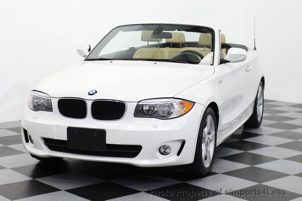 2013 BMW 1 Series CERTIFIED 128i CONVERTIBLE PREMIUM / COLD - 15634511 - 13