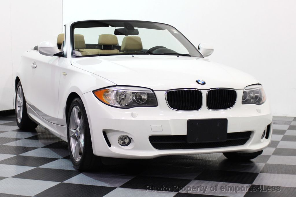 2013 BMW 1 Series CERTIFIED 128i CONVERTIBLE PREMIUM / COLD - 15634511 - 14