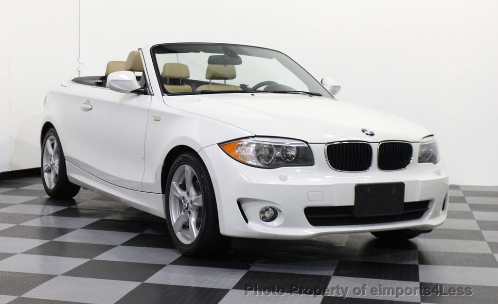 2013 used bmw 1 series certified 128i convertible premium. Black Bedroom Furniture Sets. Home Design Ideas